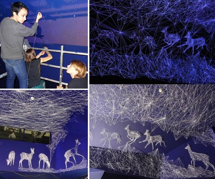 Grotte Stellaire: звездная инсталляция в пещере для Palais de Tokyo