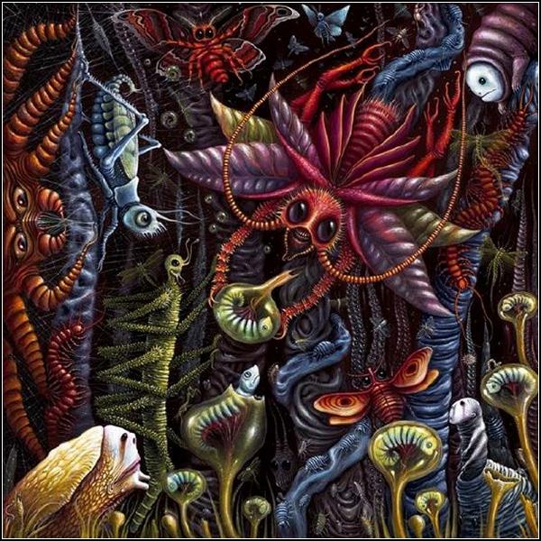 Удивительный ярко-мрачный сюрреализм Роберта Стивена Коннетта