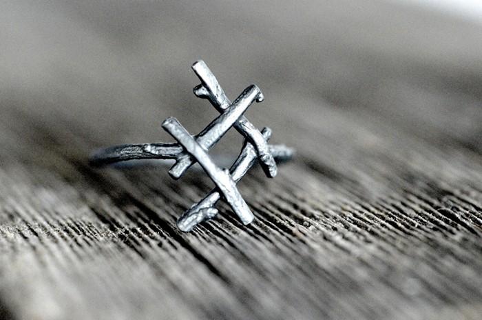 Inguz - руна истинной любви и гармонии. Серия серебряных колец Rune Rings