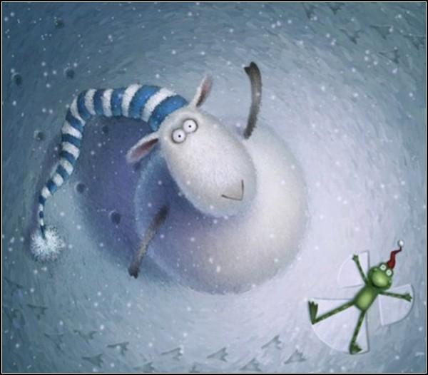 Russell le mouton. Иллюстрации Роба Скоттона (Rob Scotton)