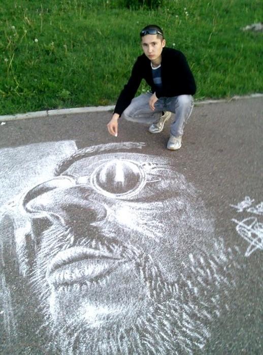 Готовый портрет Жана Рено