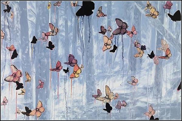 Бабочки и птицы Сэйджа Вона (Sage Vaughn)