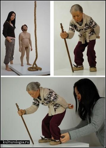 *Живые* скульптуры от Jamie Salmon и Jackie K. Seo