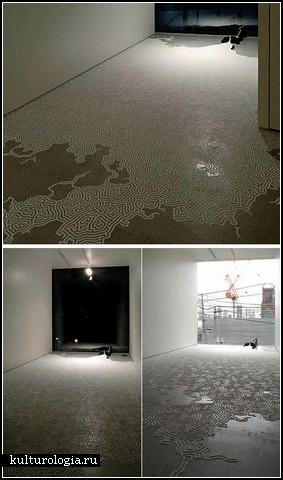 Инсталляции из соли. Работы Motoi Yamamoto