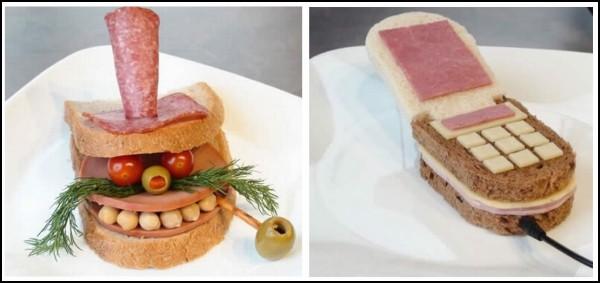 Sandwich-art, или искусство делать бутерброды