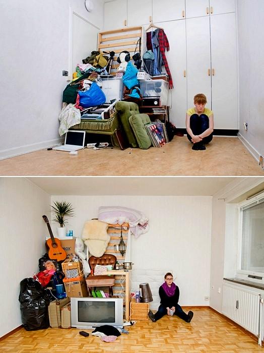 Люди и их вещи в фотопроекте All I Own