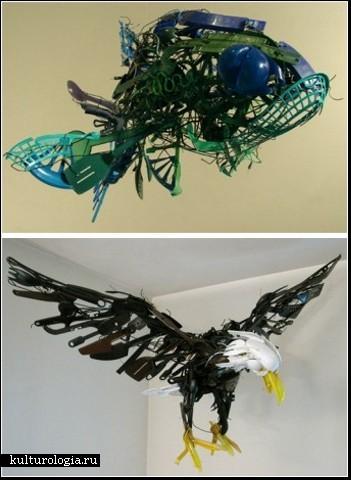 Скульптурные инсталляции Саяки Ганц (Sayaka Ganz)