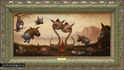 Животные из фантастических детских сказок Скотта Мусгроува (Scott Musgrove)