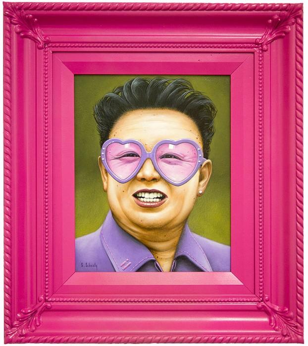 Гламурный портрет Ким Чен Ира