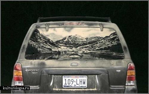 Dirtycart - *грязное* автотворчество Скотта Уэйда (Scott Wade)