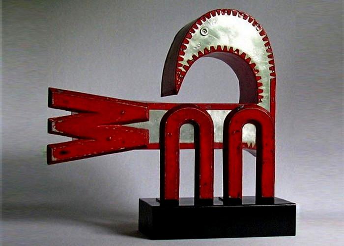 Творчество Джун Корли (June Corley). Оригинальные скульптуры из букв и цифр