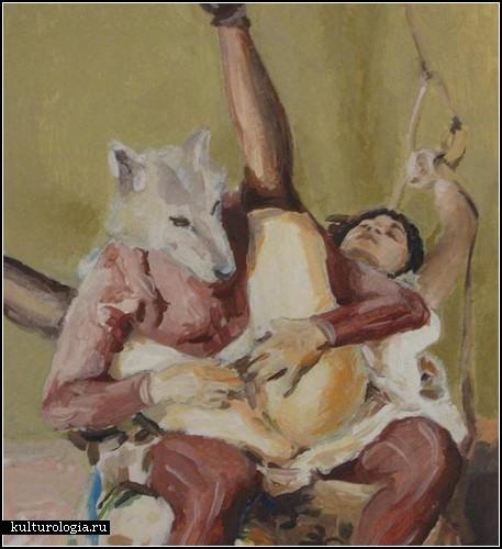 Секс эротика художник картина