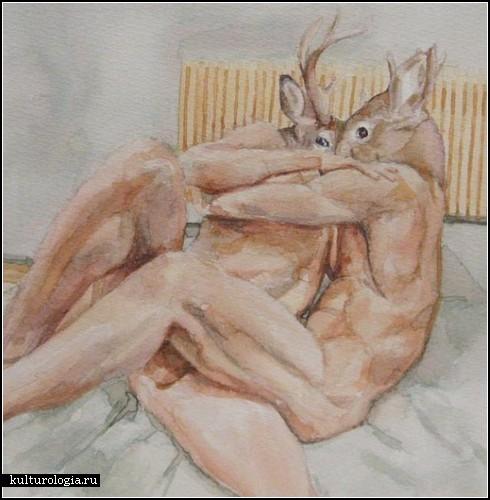 Эратажные эротические картины Мелиссы Стекбауэр (Melissa Steckbauer)