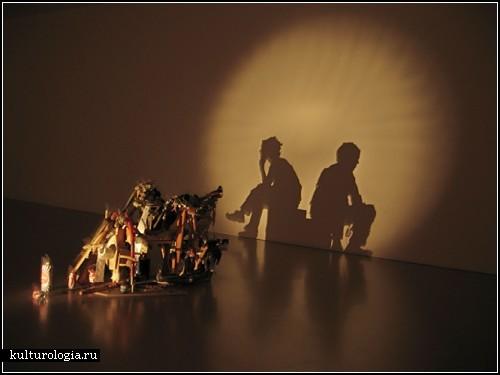 Игра света и  тени в творчестве  Tim Noble и Sue Webster