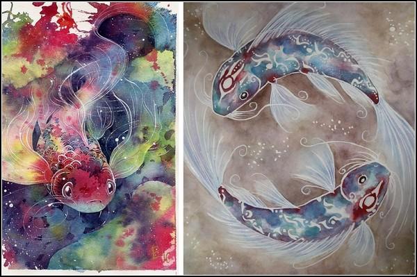 Сияющие рыбки-талисманы от Shadrad
