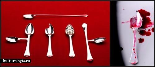 Арт-проект  Silver Sensations. Серебряные ложки-*привычки*
