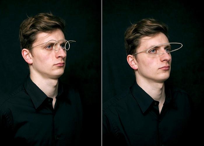 Оригинальные очки-аксессуары SKETCH от дизайнера Masaki Komoto