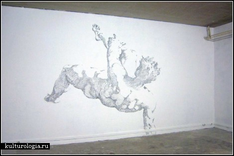Степлер-арт Батиста Дебомбура (Baptiste Debombourg)