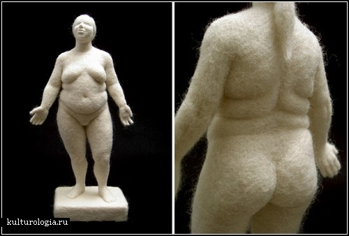 Скульптуры из войлока от Стефани Метц (Stephanie Metz)