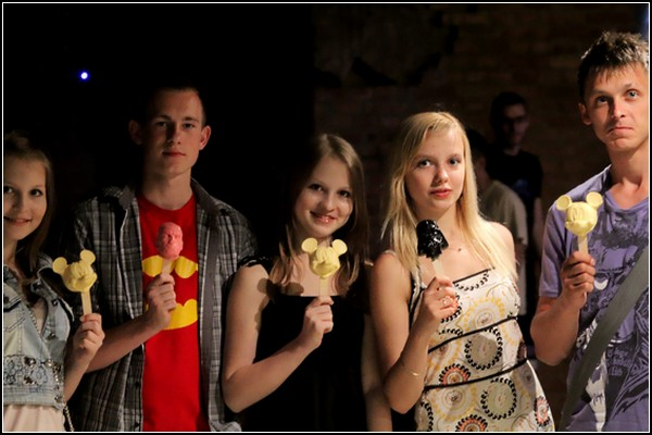 Серия оригинального мороженого *STOYN Ice Cream*