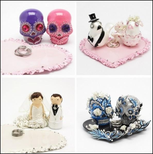 Свадебные *монстрики* от SweetieCakeTopper
