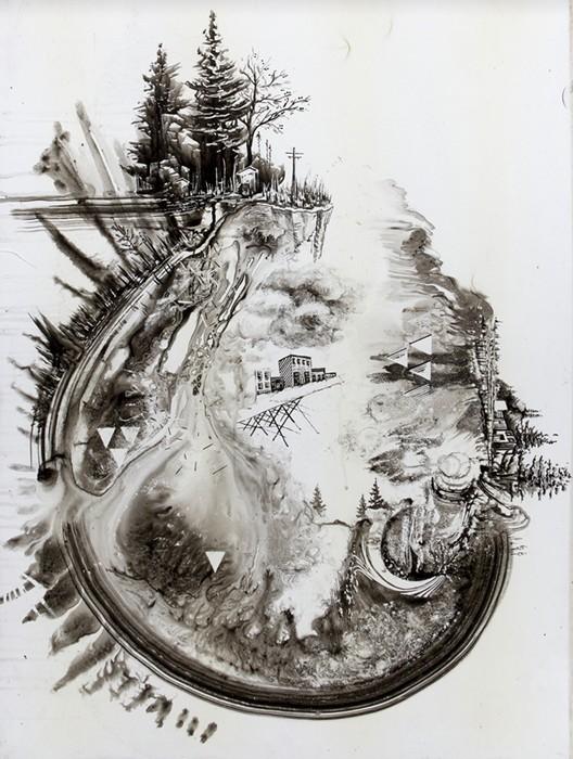 Temporary Whiteboard Drawings, временные картины на офисной доске