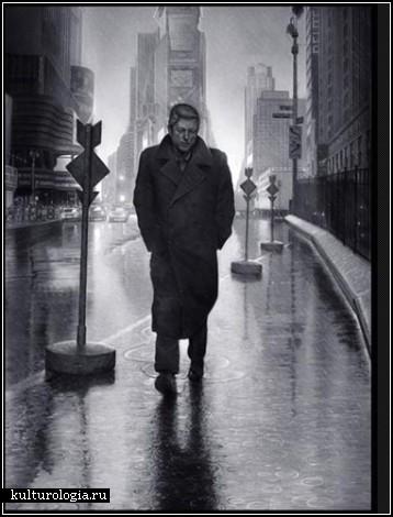 Фотореалистические полотна Tim O'Brien. История в портретах