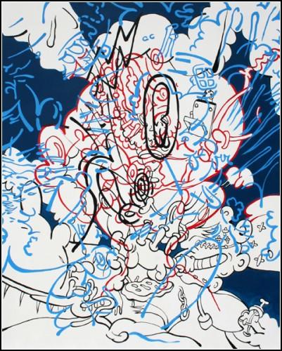 Комиксы, которые встряхнули и перемешали. Автор Стефан Томпкинс (Stephen Tompkins)