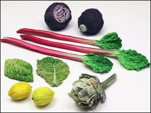 Ще трохи неїстівної їжі: В'язані овочі від Stefan Scholten і Carole Baijings