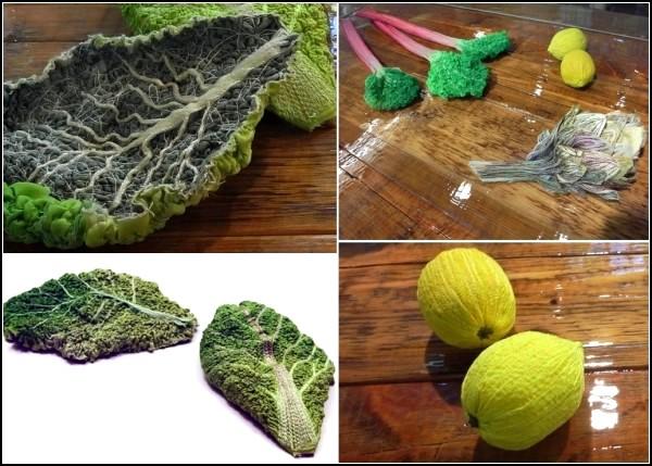 Vegetables. Настоящие вязаные овощи