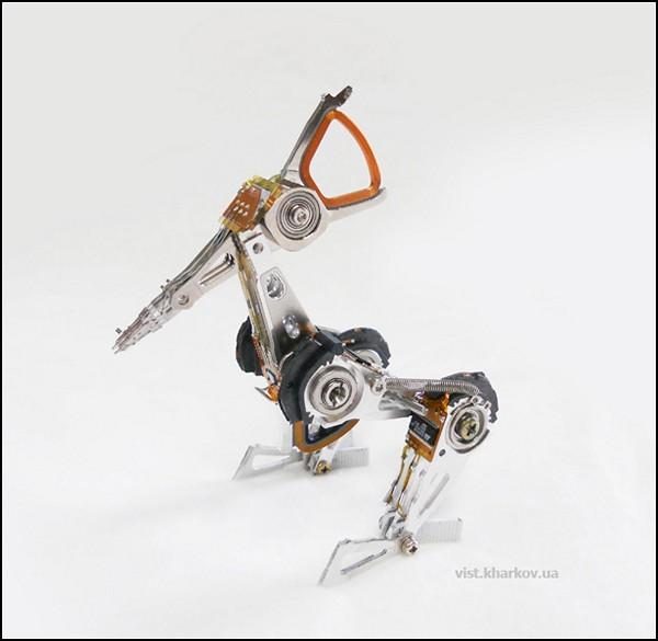 Скульптуры-игрушки от харьковской IT-компании Vist