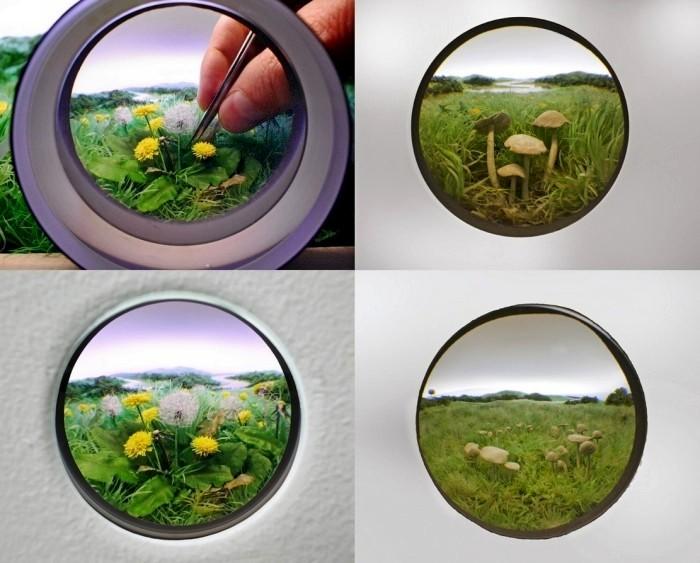 По ту сторону окна. Живописные пейзажи в диорамах Патрика Якобса