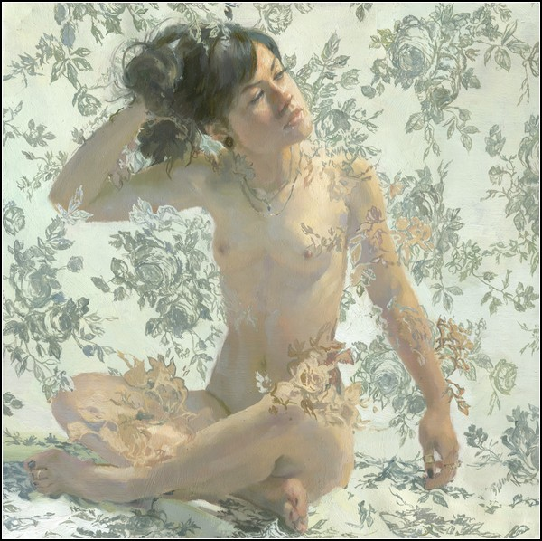 Серия картин Painted Roses от Серхио Лопеса (Sergio Lopez)