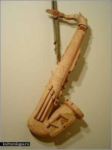 Деревянные скульптуры Майкла Ри (Michael T. Rea)