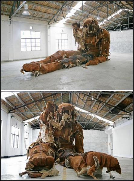 Клочковатый гигант Чжан Хуаня (Zhang Huan)