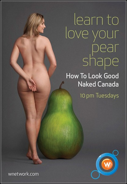 How to Look Good Naked Canada. Уроки красоты для женщин с нестандартной фигурой