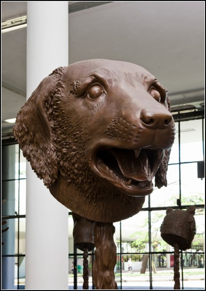 Circle of Animals/Zodiac Heads, 12 скульптур-зодиаков из бронзы