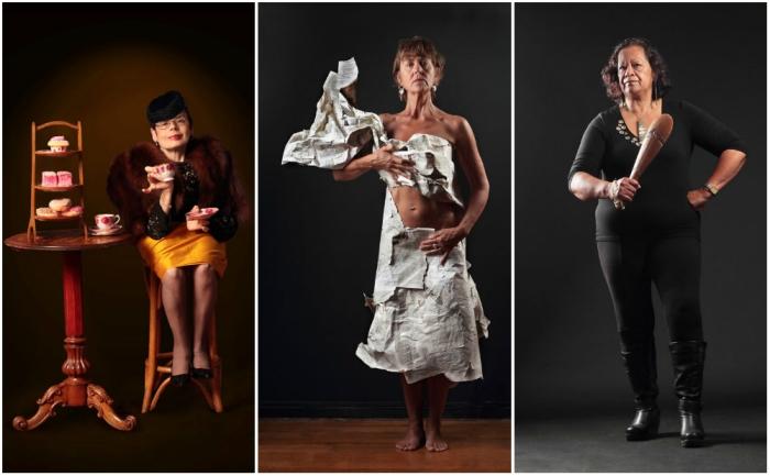 Фотографии женщин, которым исполнилось 60.