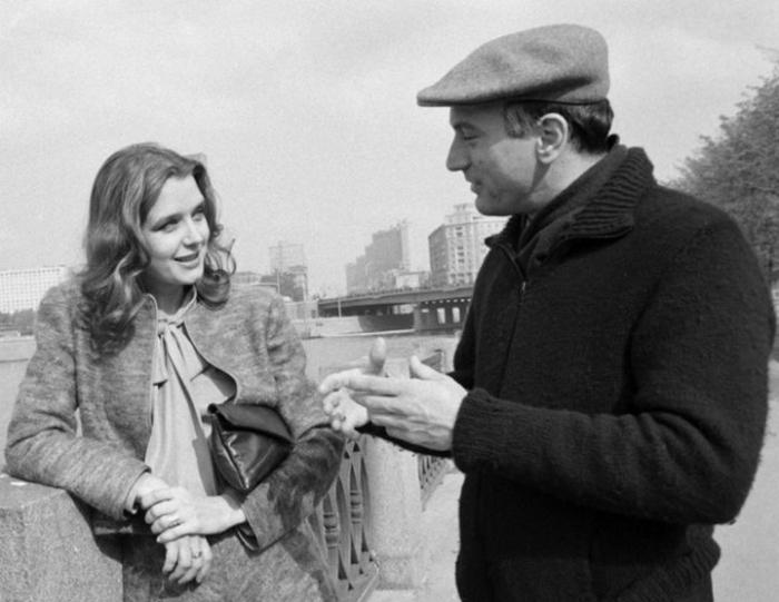 Ирина Алферова и Роберт Де Ниро, Москва, сентябрь 1983 г.