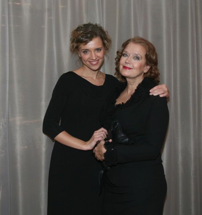 Ирина и Ксения Алферова - обе красавица.