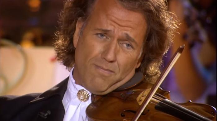 Дирижёр и скрипач из Нидерландов Андре Рье.