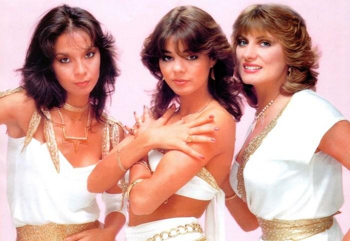 «Arabesque» - звёзды 1980-х.