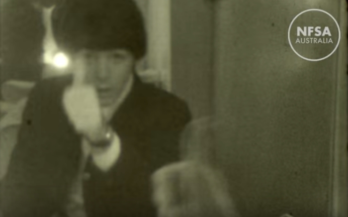 Неизвестное видео The Beatles