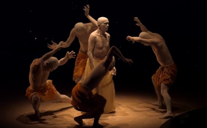 «Тобари»: фрагмент из нашумевшей постановки японского танца Буто.