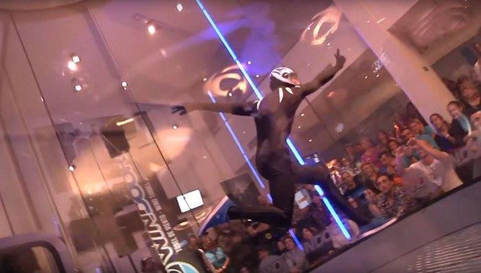 Wind Games 2016: танцы в аэротрубе.