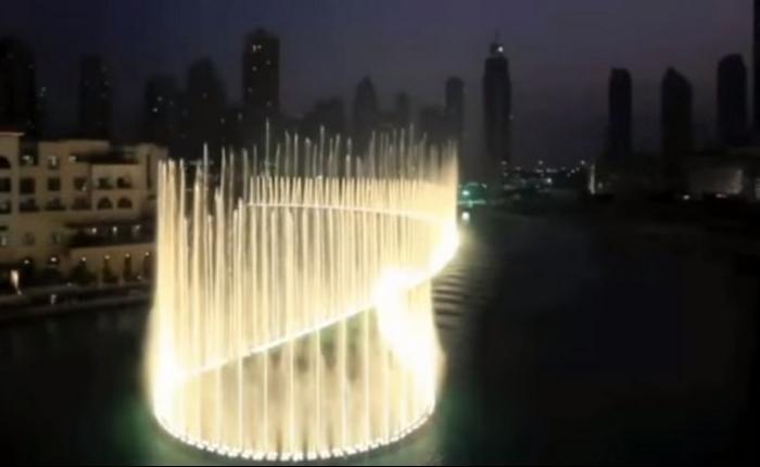 Невероятный поющий фонтан в Дубае