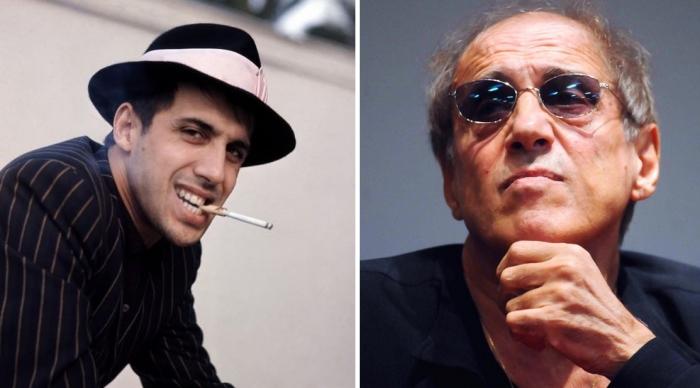 Адриано Челентано: тогда и сейчас.