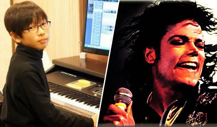 13-летний парень исполняет мелодию Майкла Джексона
