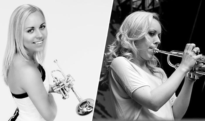 Великолепная норвежская трубачка Тины Хелзет.