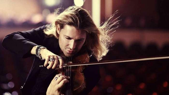 Давид Гаррет – самый быстрый в мире виртуоз-скрипач.